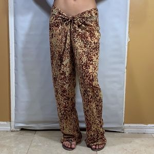 Victoria's secret sheer beach coverup pants size M